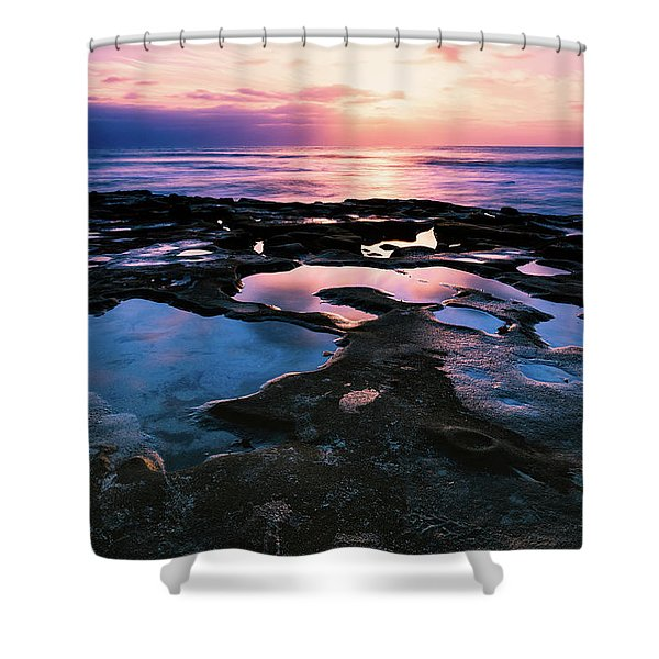 Candy Colored Pools Shower Curtain