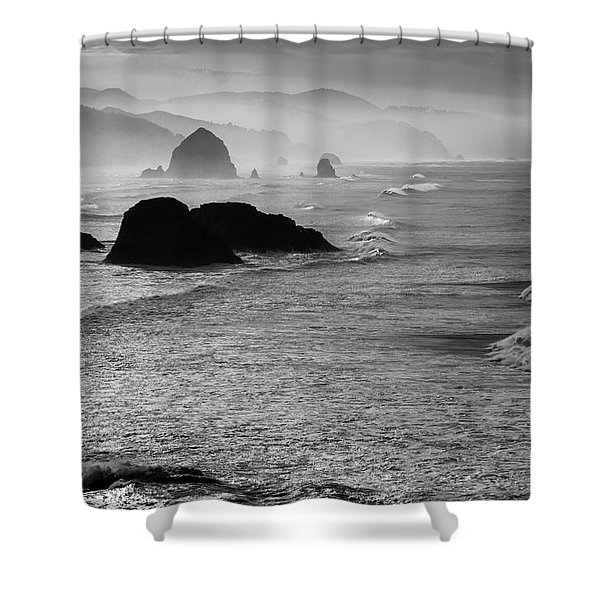 Cannon Beach Shower Curtain