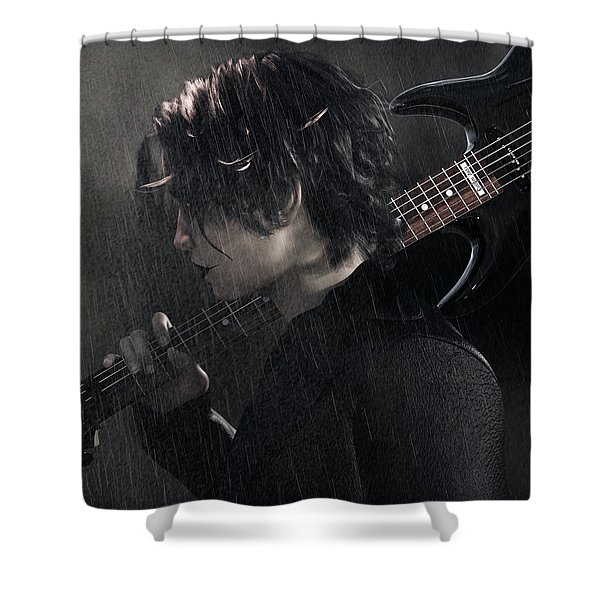 Can't Rain All The Time Shower Curtain