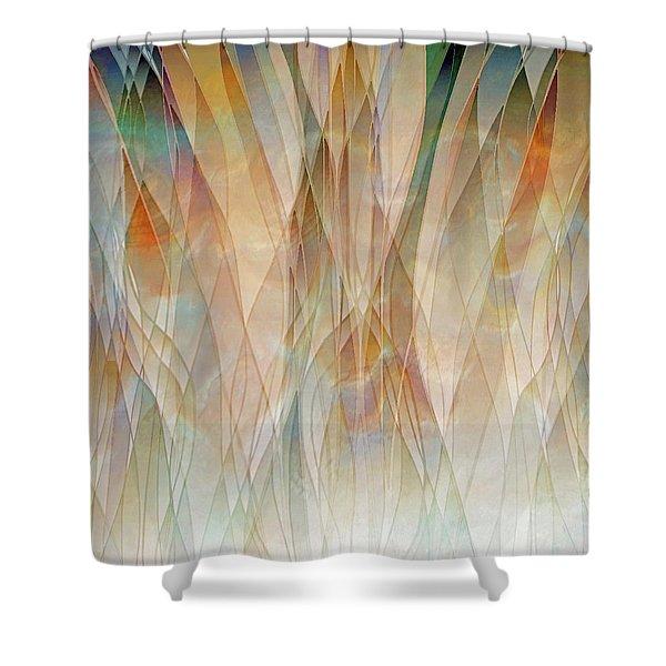 Canyon Falls  Shower Curtain