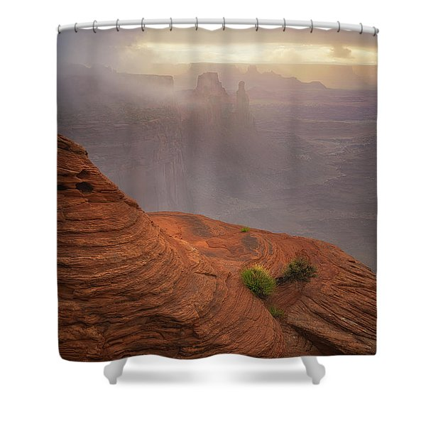 Canyon Moods Shower Curtain