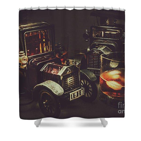Car Club Shower Curtain