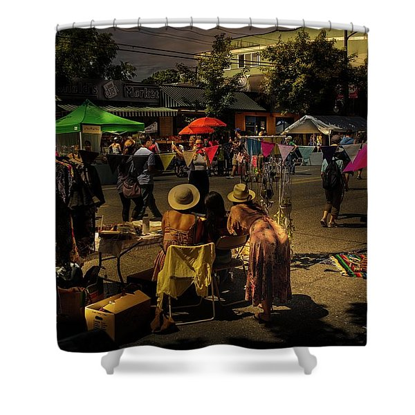 Shower Curtain featuring the photograph Car-free Day No. 2 by Juan Contreras