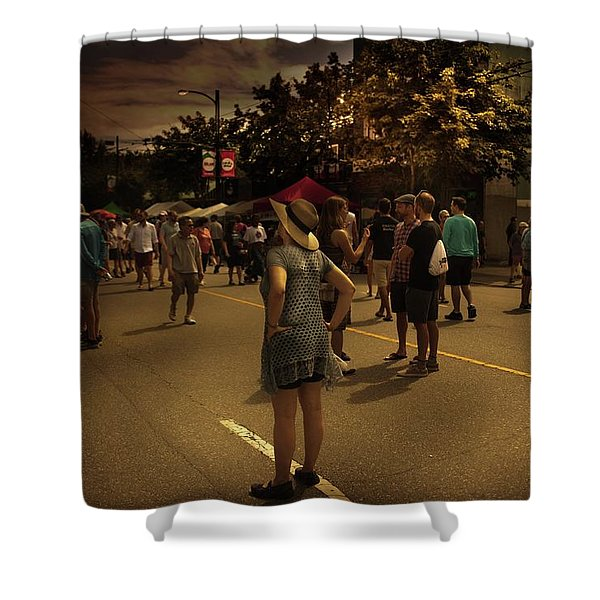 Shower Curtain featuring the photograph Car-free Day No. 7 by Juan Contreras