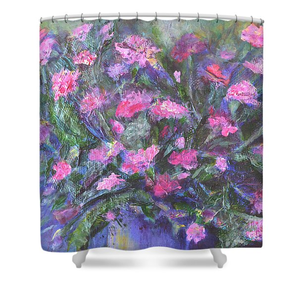 Carnations Shower Curtain