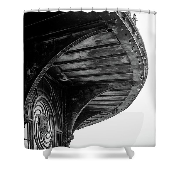 Carousel House Detail Shower Curtain