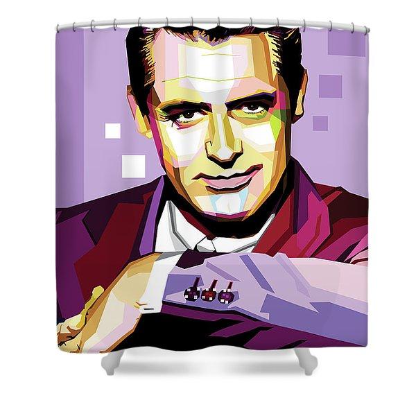 Cary Grant Pop Art Shower Curtain