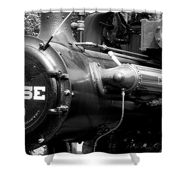 Case Eagle Shower Curtain
