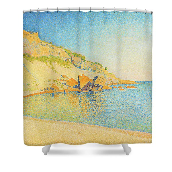 Cassis, Cap Lombard - Digital Remastered Edition Shower Curtain