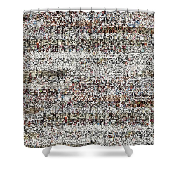 Cataloged Moments Shower Curtain