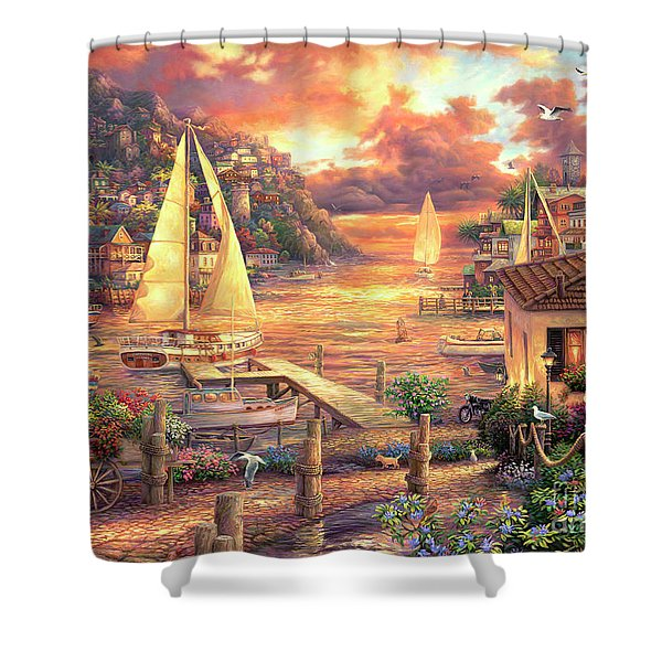Catching Dreams Shower Curtain