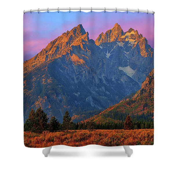 Cathedral Dawn Shower Curtain