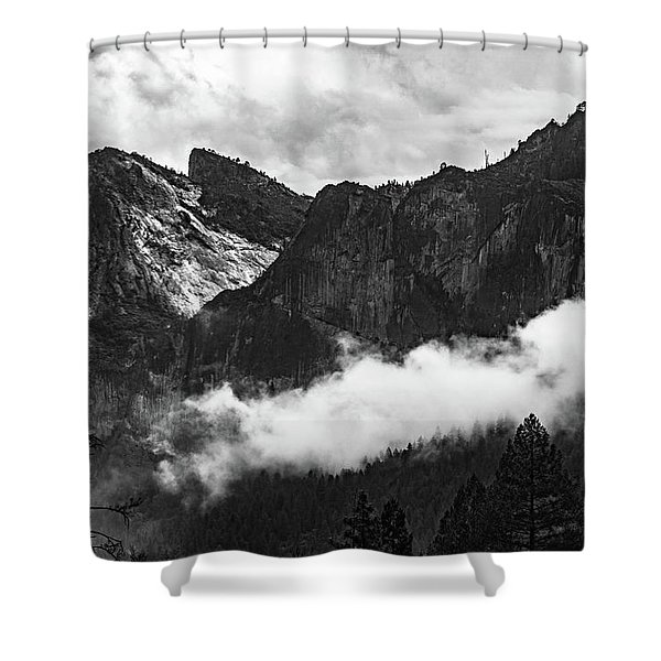 Cathedral Rocks Shower Curtain