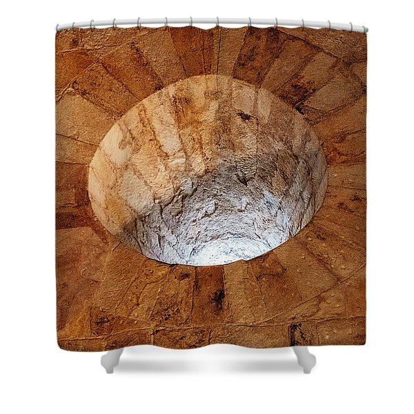 Shower Curtain featuring the photograph Cathedral Window by Tom Singleton