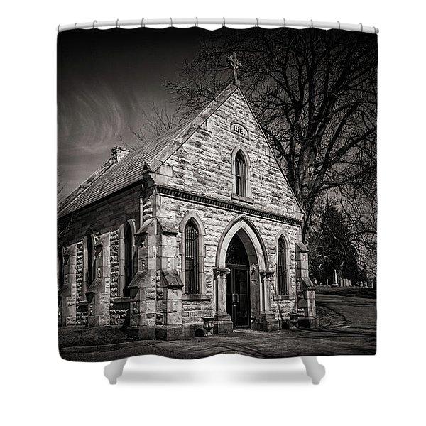 Cedar Hill Chapel Shower Curtain