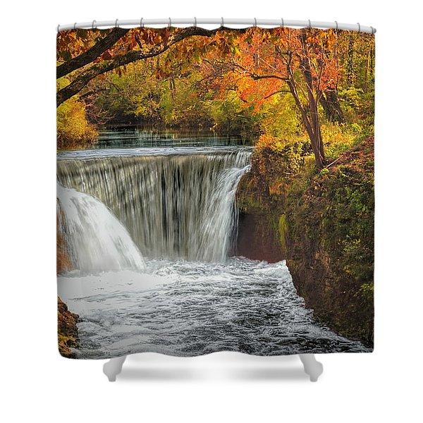 Cedarville Falls Shower Curtain