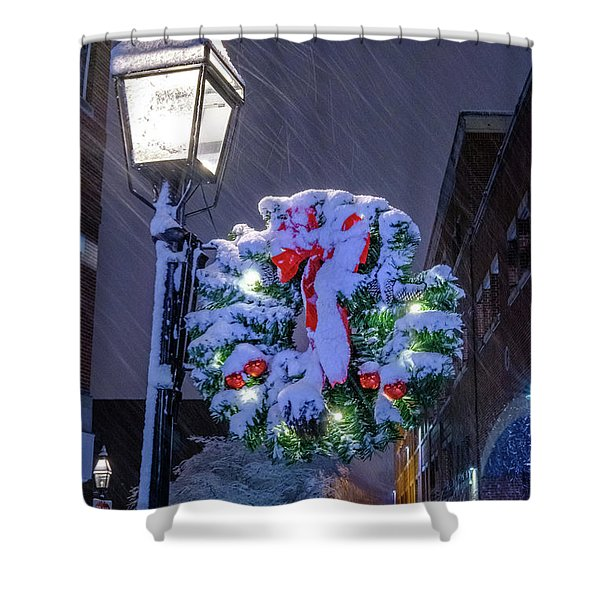 Shower Curtain featuring the photograph Celebrate The Season by Jeff Sinon