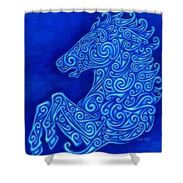 Celtic Horse Shower Curtain