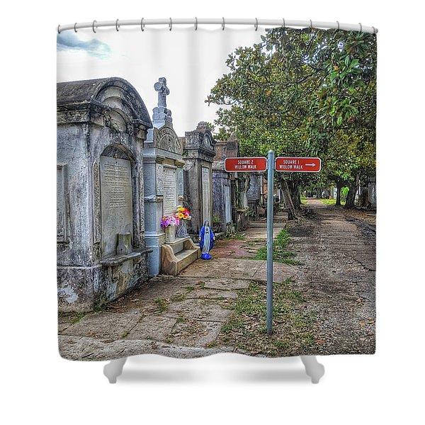 Cemetery #1 Shower Curtain