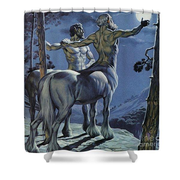 Centaurs Shower Curtain