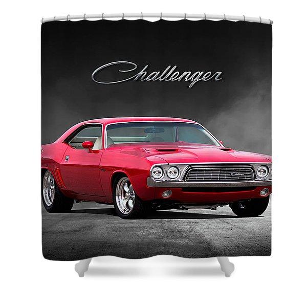 Challenger Shower Curtain