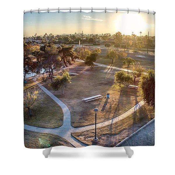 Chaparral Park Shower Curtain