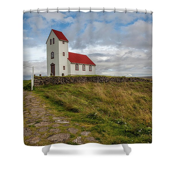 Chapel Of Iceland Shower Curtain