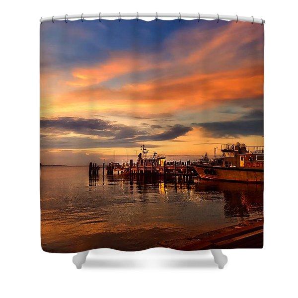 Charleston Dawn Shower Curtain