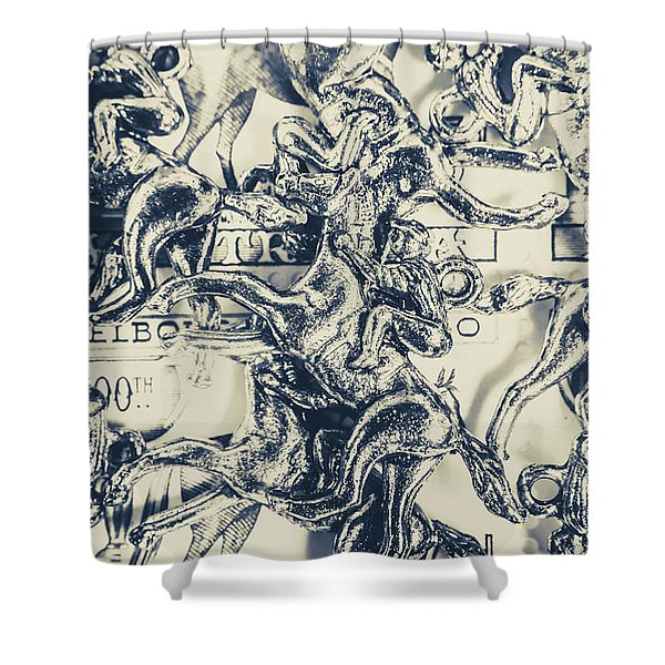 Charming Cup Shower Curtain