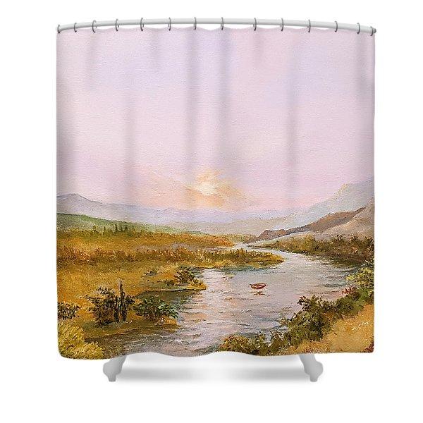 Charon's Sabbatical Shower Curtain