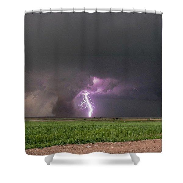 Chasing Naders In Nebraska 017 Shower Curtain