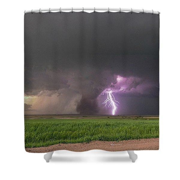 Shower Curtain featuring the photograph Chasing Naders In Nebraska 017 by Dale Kaminski