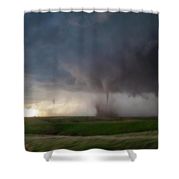Chasing Naders In Nebraska 026 Shower Curtain