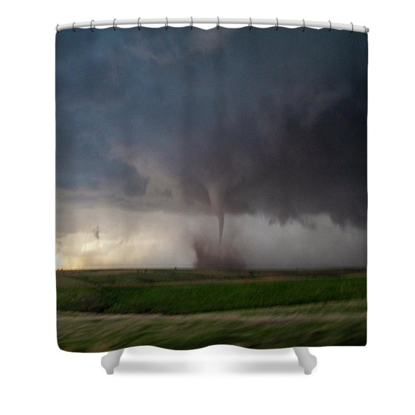 Shower Curtain featuring the photograph Chasing Naders In Nebraska 026 by Dale Kaminski