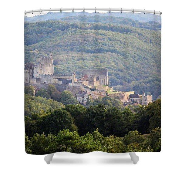 Chateau Beynac, France Shower Curtain