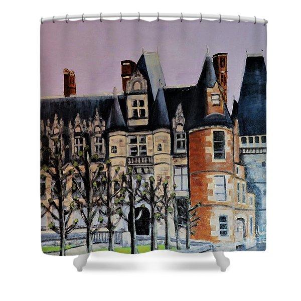 Chateau De Maintenon Shower Curtain