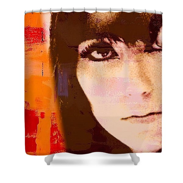 Cher Shower Curtain