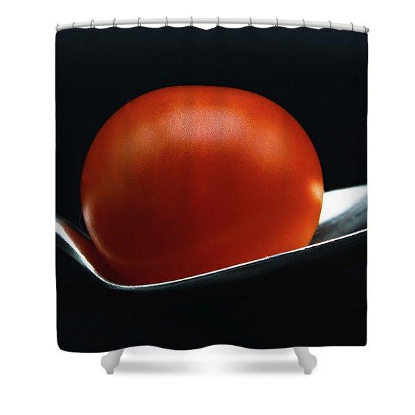 Cherry Tomato Shower Curtain