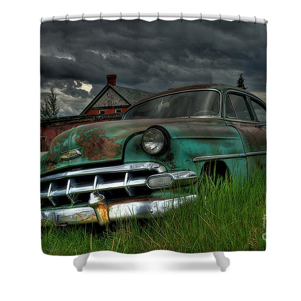 Chevy  Bel Air Shower Curtain