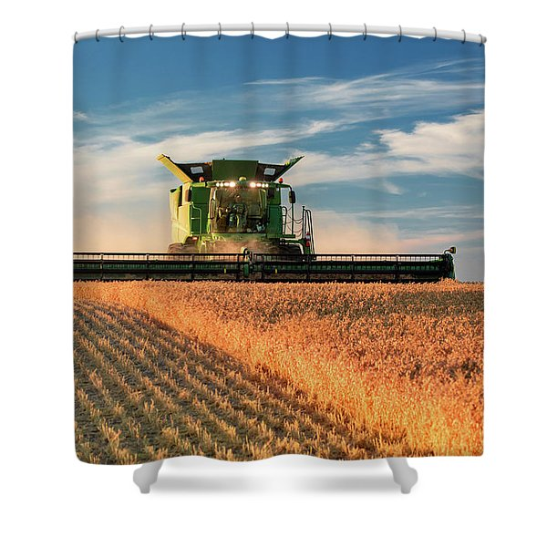 Chickpea Crest Shower Curtain