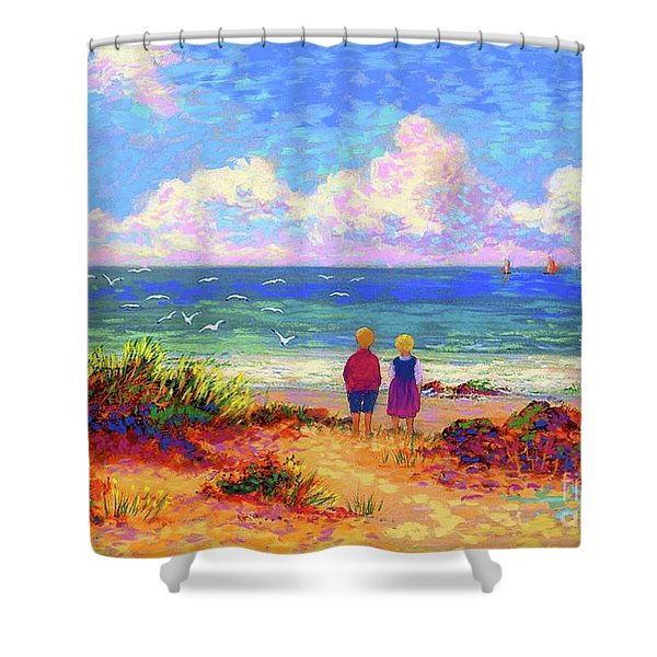 Children Of The Sea Shower Curtain