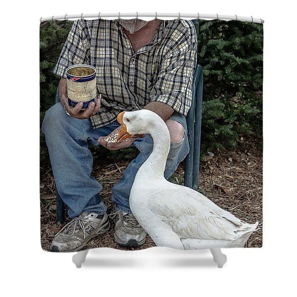Chow Time Shower Curtain