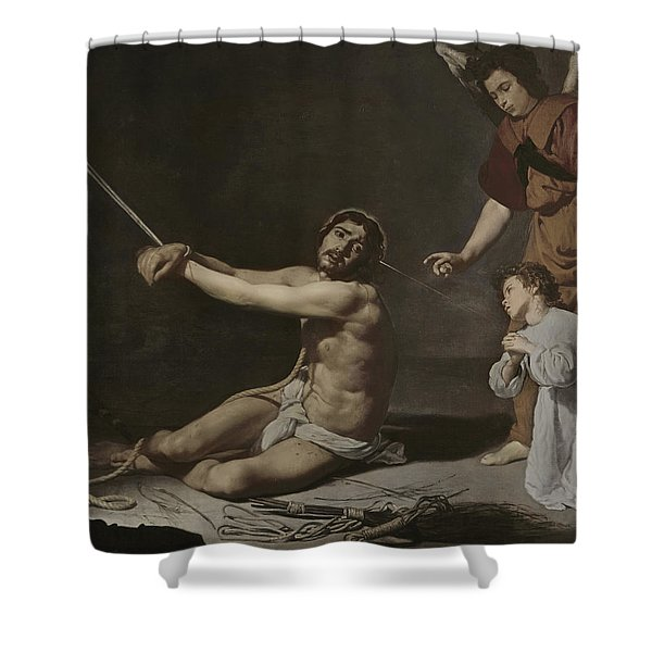 Christ After The Flagellation Contemplated By The Christian Soul Shower Curtain