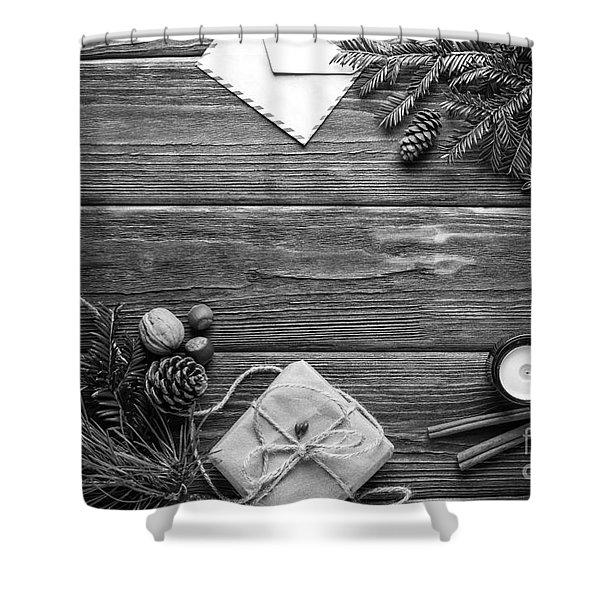 Christmas 6 Shower Curtain