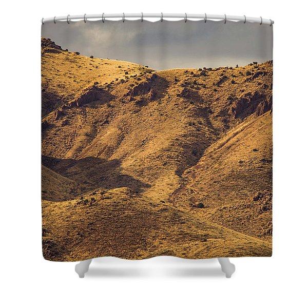 Chupadera Mountains Shower Curtain