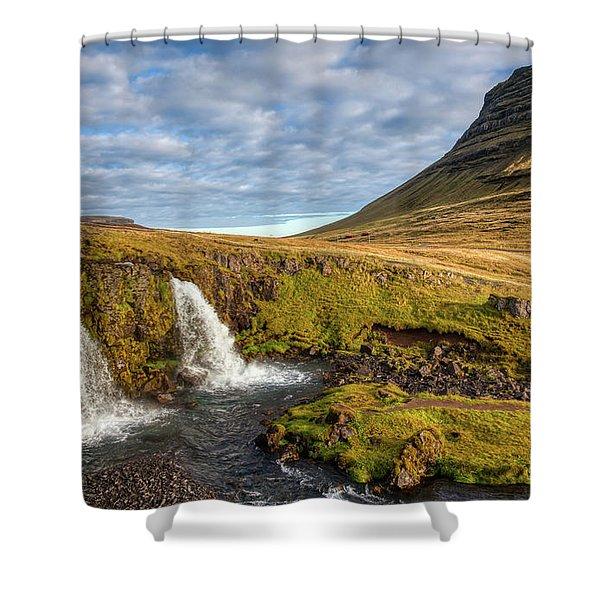Church Mountain Shower Curtain
