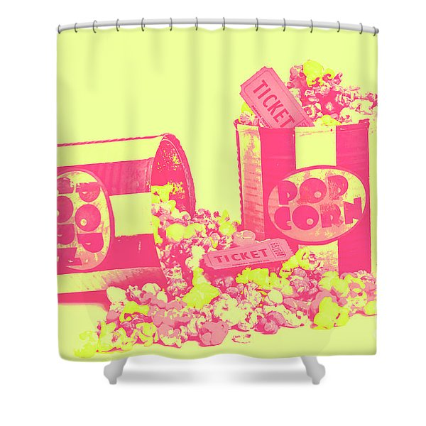 Cine Design Shower Curtain