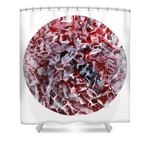 Circle Of Sweetness Shower Curtain