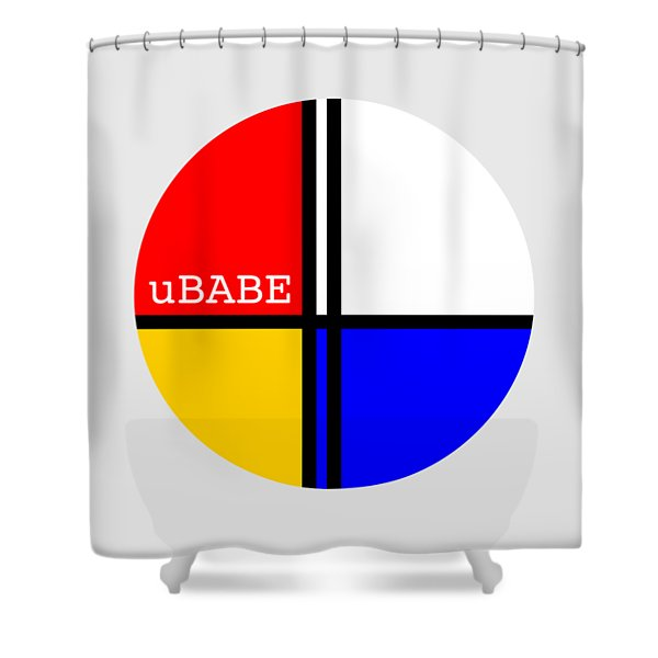 Circle Style Shower Curtain