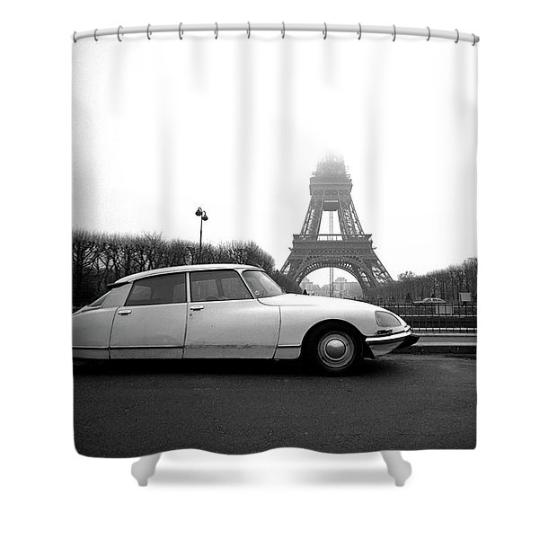 Citroen Shower Curtain